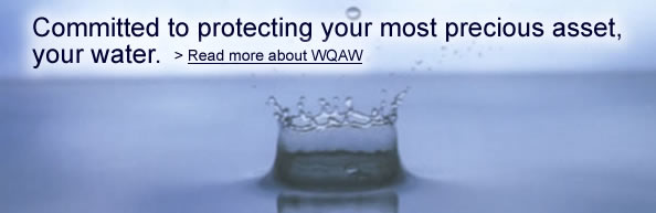 Water Quality Association of Wisconsin Water Drop